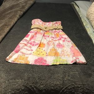 Lilly Pulitzer Let them eat cake Wyatt dress 0